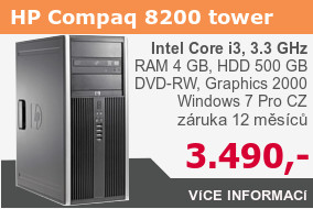 HP Elite 8200 Tower s Core i3