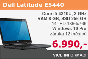 Dell Latitude E5440 s SSD a 8 GB RAM