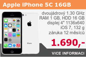 Apple iPhone 5C 16GB bílý