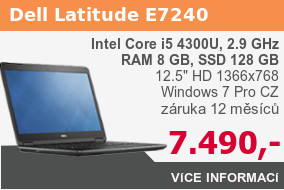 Notebook Dell Latitude E7240 Core i5
